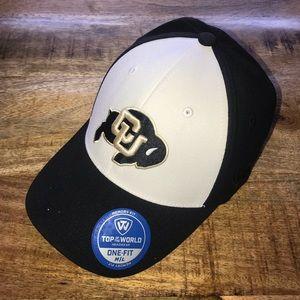 Colorado buffalo CU Black baseball hat